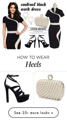 """""""SHOP - Nessa Raquel"""" by ladymargaret on Polyvore featuring Mascara, GUESS and Majorica"""