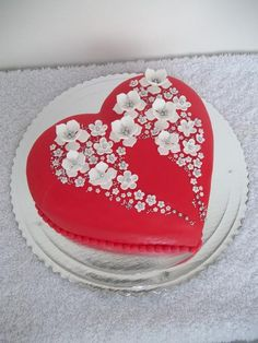 146 Best Heart Shaped Cakes Images In 2019