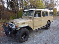 Overland Vehicles   Overland Vehicle Find: 1981 Toyota Landcruiser HJ47 Troopy @ Main Line ...