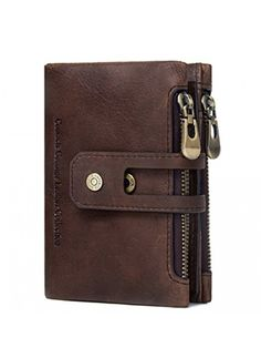 657ec3f9 Contacts Leather Brown RFID Blocking Men's Wallet #wallets #wallet  #mensfashionstyle #menswear #mensoutfits #mensfashion #accessories  #accessory