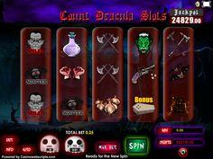 Buy Video Slot game for Online Casino - Count Dracula Video Slot Game