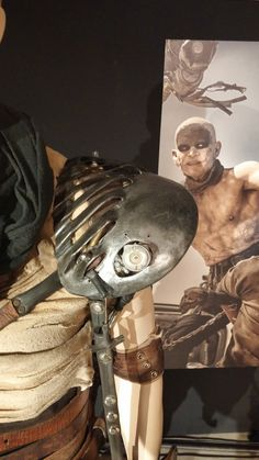 Mad-Max-Fury-Road-Imperator-Furiosa-Pad-Plate-Press-Day