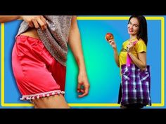 How to breathe new life into old things. A bag made from a shirt. Tips and Tricks - YouTube