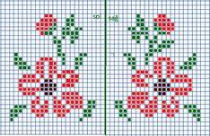Cross Stitch Beginner, Tiny Cross Stitch, Cross Stitch Heart, Cross Stitch Borders, Cross Stitch Flowers, Cross Stitch Designs, Cross Stitching, Cross Stitch Embroidery, Cross Stitch Patterns