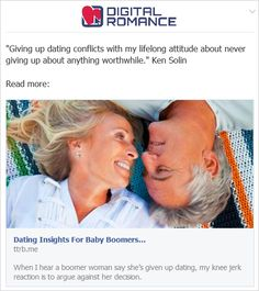 Online Baby Boomer Dating Advice