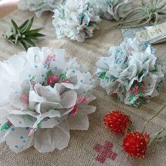 【簡単DIY】ペーパーフラワーの結婚式の飾りつけ方 | marry[マリー]