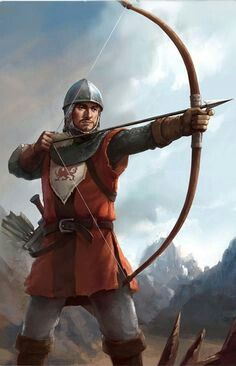 m Fighter Royal Army Med Armor Longbow Sword eastern border To draw a long bow Character Portraits, Character Art, Character Design, Fantasy Armor, Medieval Fantasy, Medieval Archer, Paladin, Dnd Characters, Fantasy Characters