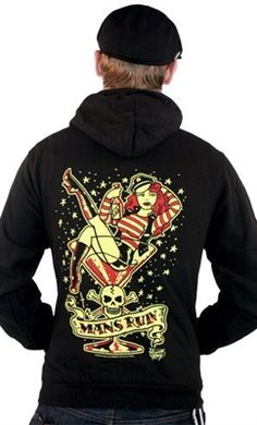 Man's Ruin Hoodie, FLASH SALE 20% OFF EVERYTHING, Sat & Sun, Dec 7th & 8th!