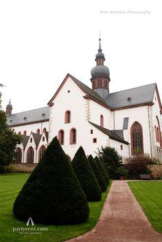 Romantisches Styled Shoot in der Weinregion Rheingau: Kloster Eberbach