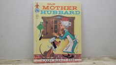 Old Mother Hubbard 1958 Rand McNally Elf by RandomGoodsBookRoom