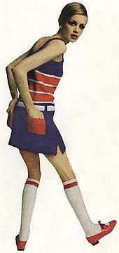 Twiggybody ideal was tall gangly childlike with narrow hips and skinny legs Sixties Fashion, Mod Fashion, Trendy Fashion, Fashion Models, Vintage Fashion, Narrow Hips, British Style, British Fashion, Vintage 1950s Dresses