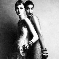Jourdan, Chanel & Caroline by Patrick Demarchelier for Vogue India November 2010