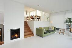 White Water Villa Amsterdam – Famous Last Words House Design, New Homes, Sunken Living Room, Interior Design, House, Splow House, Home, Room Remodeling, Living Design