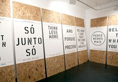 An exhibition of work developed from a six day workshop held in São Paulo, Brazil organised by Mesa & Cadeira. Kemistry Gallery, London (2012).