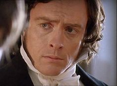 """Mr. Rochester in 2006 """"Jane Eyre"""" (Toby Stephens)... he just's looks soooo sad in this. As if, when she leaves, he won't be himself anymore. Because Jane brings out the better side of him out, not the side he entirely loathes upon... Love it <3"""