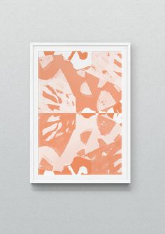 VISIONS limited edition art print - Marcello Velho 'Coral'
