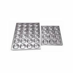 """Adcraft AMP-12 14"""" Length x 12"""" Width, 12 Cups Aluminum Muffin Pan by Adcraft. $18.58. Commercial weight aluminum muffin pans. Each cup measures 2-3/4"""" diameter by 1-1/4"""" depth. Bakeware."""