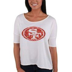 e45e07a8c Ladies San Francisco 49ers T-Shirts