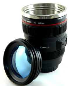 CANON 24-105mm Lens Cup 1:1Camera Mug ..... Cool gift for the photographer!
