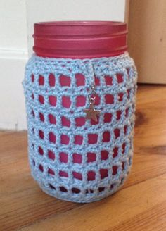 Crochet Candle Decor