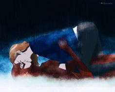 """You made me cold hearted, Barry."" ~ #FlashFrost #SnowBarry #KillerFrost #CaitlinSnow #FanArt by ClainWinter"