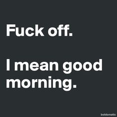 M O N D A Y - too funny! I actually don't mind Monday's, but it made me laugh x
