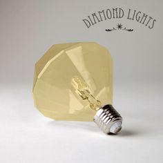 Diamond Lights Champagne   Retro verlichting   Retro Design meubels, verlichting & cadeaushop, Space Age new vintage