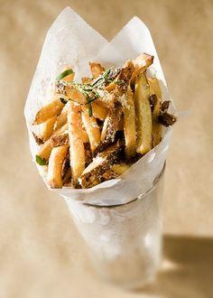 Idaho Potato Truffle Fries. #fryday