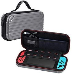 Dual protection, Designed specifically for the Nintendo Switch, Easy to carry, High quality Nintendo Switch case is backed with money back guarantee. Nintendo Switch Accessories, Computer Accessories, Nintendo Games, Nintendo Consoles, Nintendo Switch Case, Volvo Amazon, Off Game, Fujifilm Instax Mini, Carry On