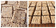 Milk and Honey: Wholemeal Flaxseed and Black Pepper Crackers