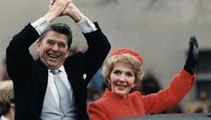 President Reagan and his wife First Lady Nancy Reagan Nancy Reagan, 40th President, President Ronald Reagan, Getting Rid Of Headaches, Us First Lady, Black Lounge, Presidential Inauguration, Jimmy Carter, Us Presidents