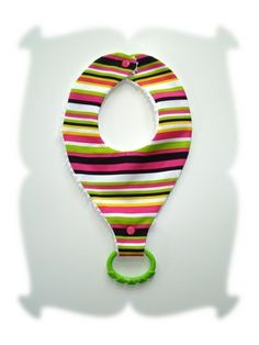 The New Binkie Teething Bib Sewing Pattern - DigiStitches