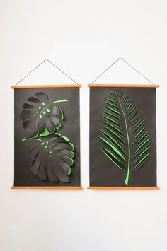 DIY Paper Wall Art Tutorial