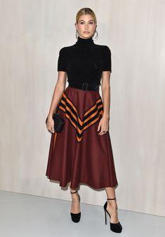 3abb2f437a 8 Times Hailey Baldwin Gave Us Serious Style Envy. Cute Skirt OutfitsCute  ...