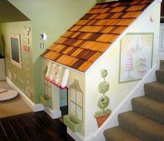 Stair Playhouse - this would fit perfectly!!!