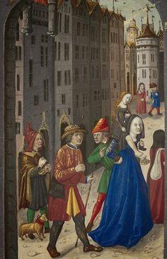 « Le Livre des faiz monseigneur saint Loys », composé à la requête du « cardinal de Bourbon » et de la « duchesse de Bourbonnois ». Date d'édition : 1401-1500