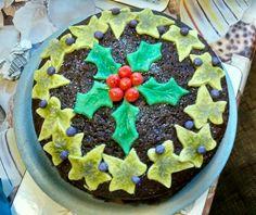 Spiced orange chocolate cake
