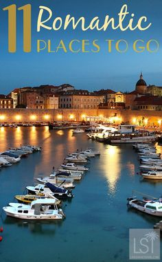 Looking for a luxurious Valentine's Day break? Dubrovnik in Croatia is one of our most romantic places to go in the world. See the whole list including Paris, Rome, Sweden, Borneo, Tahiti, Barbados and many more destinations: http://livesharetravel.com/21344/11-romantic-places-to-go-world/