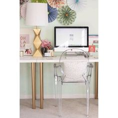 15 IKEA Hacks to DIY Your Apartment Into Adulthood | Gold paint on your plain desk