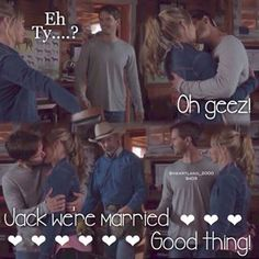 Ty and Amy - heartland season 9 episode 3 - 9x03 - loool this scene was funny, Oh Jack xD