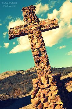 Holy City of the Wichitas ..on Wichita Mountains Wildlife Refuge near Meers, Oklahoma..annual Passion Play presented every Easter.
