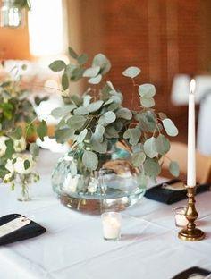 mesas verdes sencillas