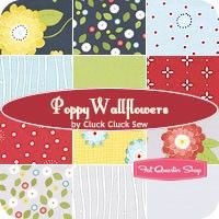Poppy Wallflowers Fat Quarter BundleCluck Cluck Sew for Windham Fabrics