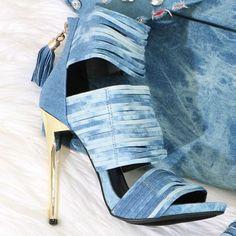 Back Zipper Strappy High Heels
