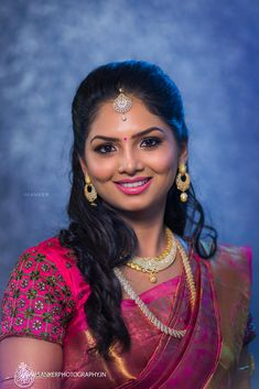 South Indian Bride Curated By Best Indian Candid & Destination Wedding Photography: Magica Kerala Bride, Bengali Bride, South Asian Bride, Saree Wedding, Wedding Bride, Indian Wedding Outfits, Most Beautiful Indian Actress, Indian Beauty Saree, India Beauty