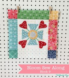 March Bloom Sew Along Recap with Lori Holt of Bee in my Bonnet