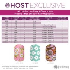 November 2015 - January 2016 HE's | Jamberry - Host Exclusives (HE ...