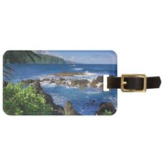 Hawaii Beach Scenery Tag For Luggage