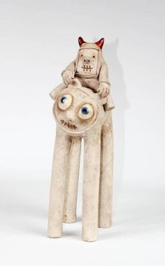 Funny Monster / Kids / Character / Statuette / Unique /