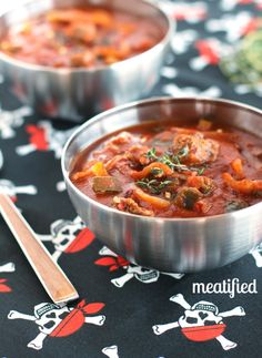 Beef & Pumpkin Stew from http://meatified.com - Easy, Paleo and Whole 30 compliant!
